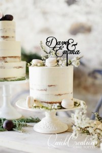 Quick Creations Cake Topper - Dave & Emma