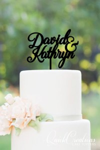 Quick Creations Cake Topper - David & Kathryn