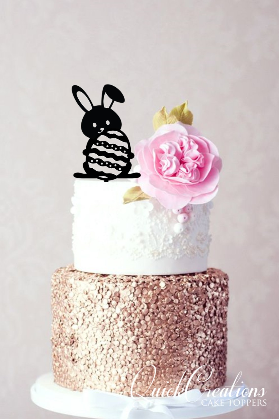 Quick Creations Cake Topper - Easter Bunny
