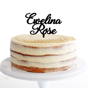 Quick Creations Cake Topper - Elwina Rose