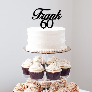 Quick Creations Cake Topper - Frank 60
