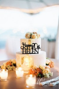 Quick Creations Cake Topper - Happy 70th Helen
