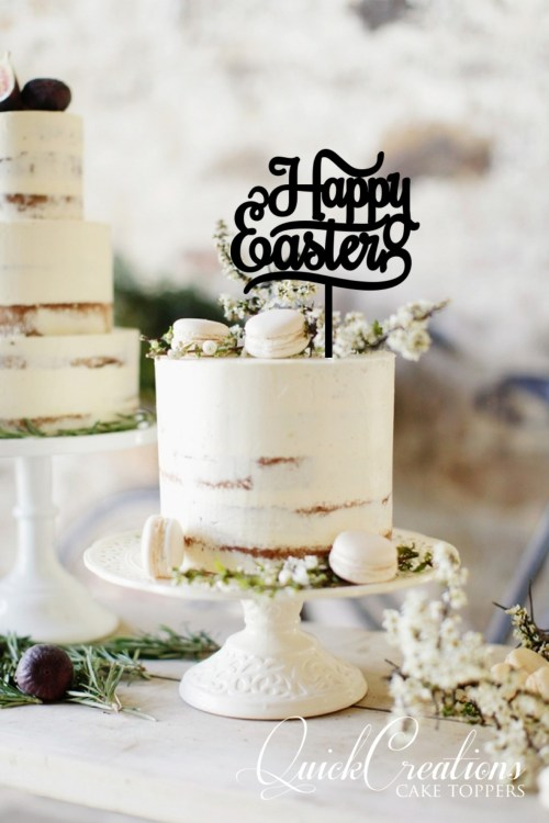 Quick Creations Cake Topper - Happy Easter