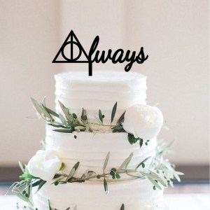 Quick Creations Cake Topper - Harry Potter Always