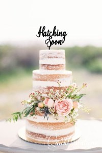Quick Creations Cake Topper - Hatching Soon