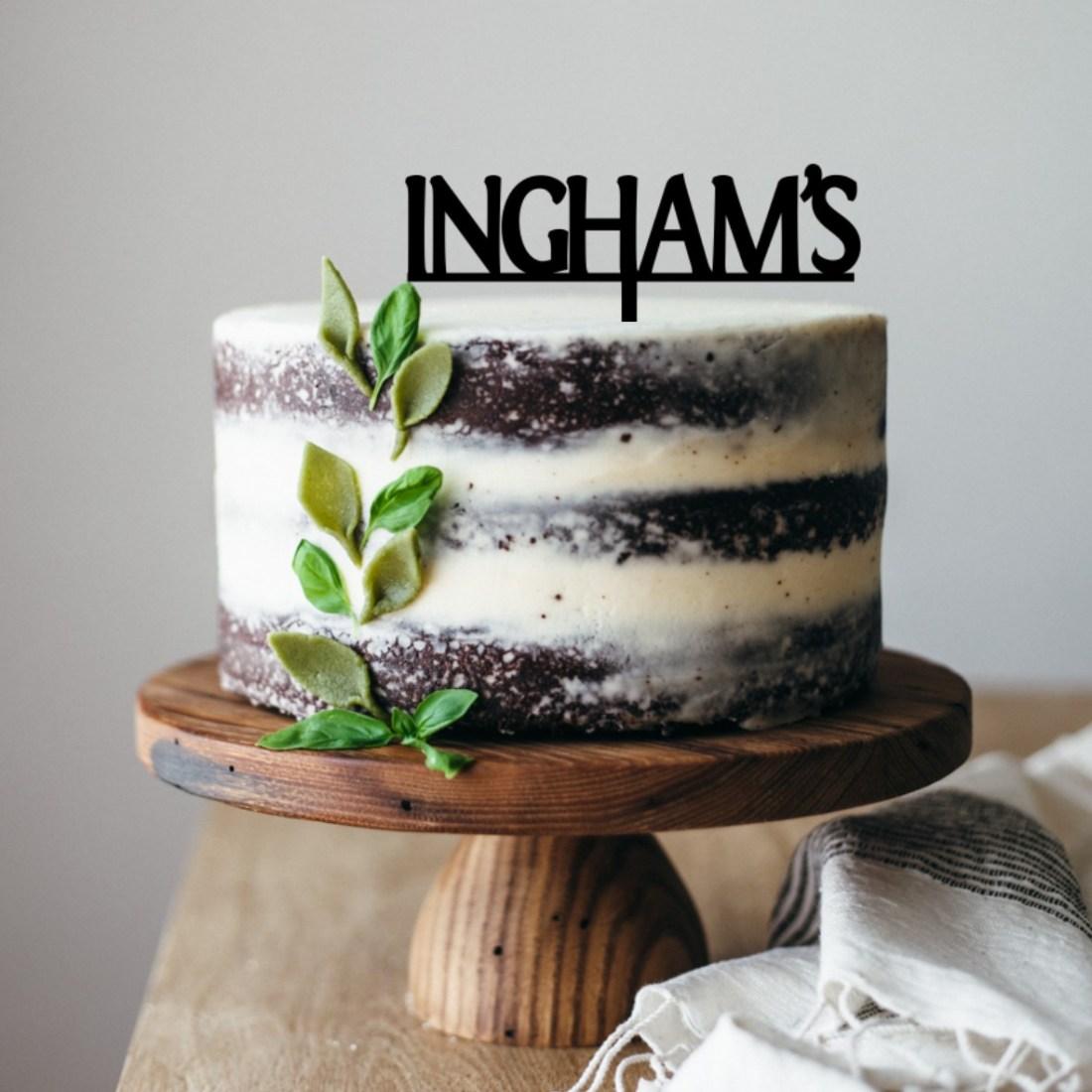 Inghams Cake Topper