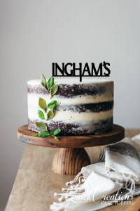 Quick Creations Cake Topper - Inghams