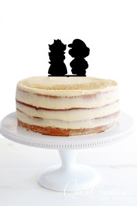 Quick Creations Cake Topper - Mario & Peach