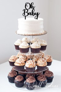 Quick Creations Cake Topper - Oh Baby