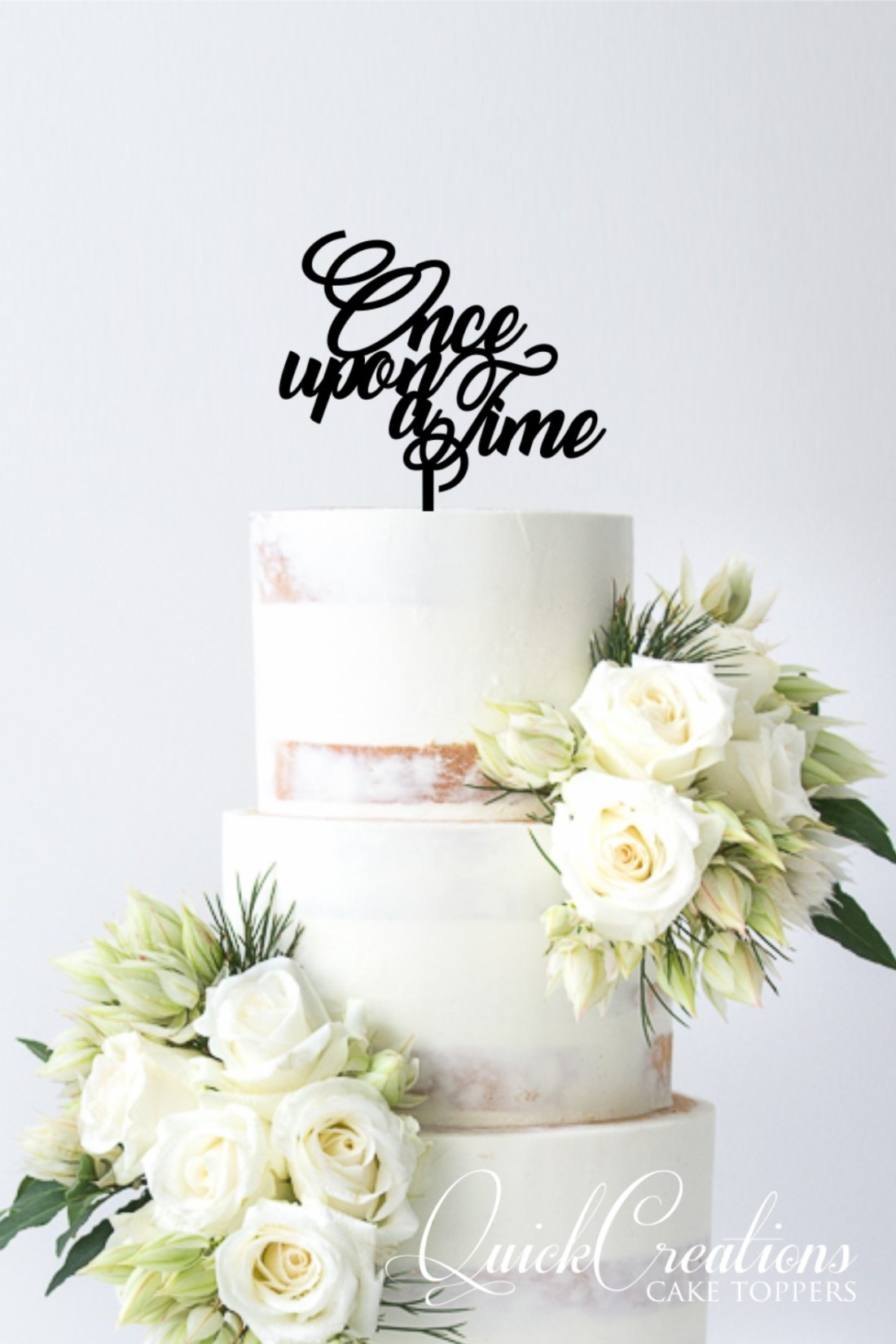 Quick Creations Cake Topper - Once Upon A Time