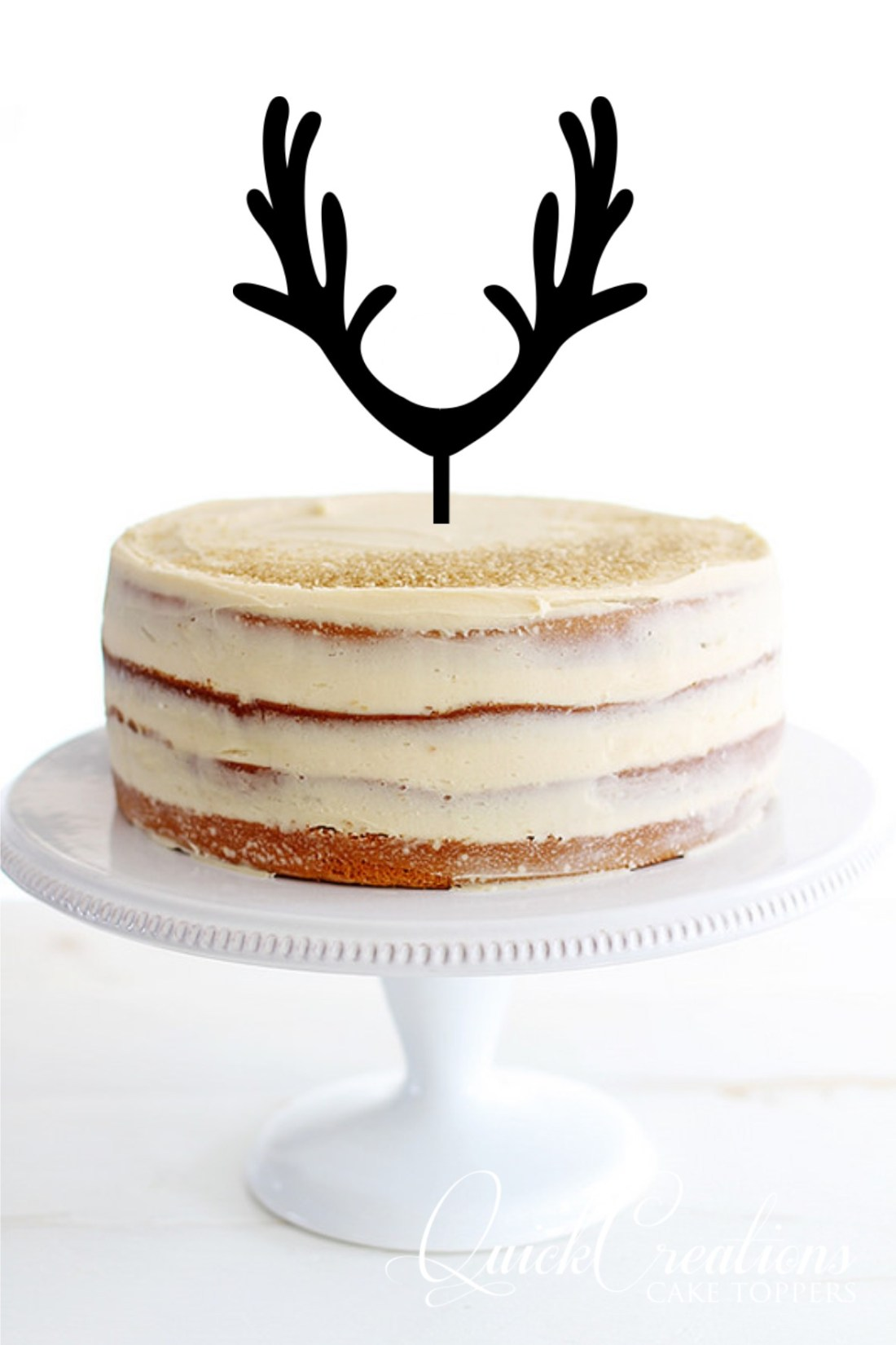 Quick Creations Cake Topper - Reindeer Antlers
