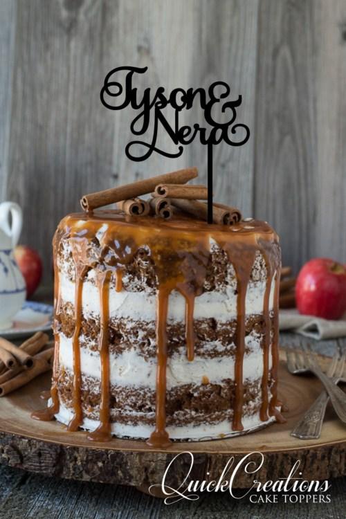 Quick Creations Cake Topper - Tyson & Nera