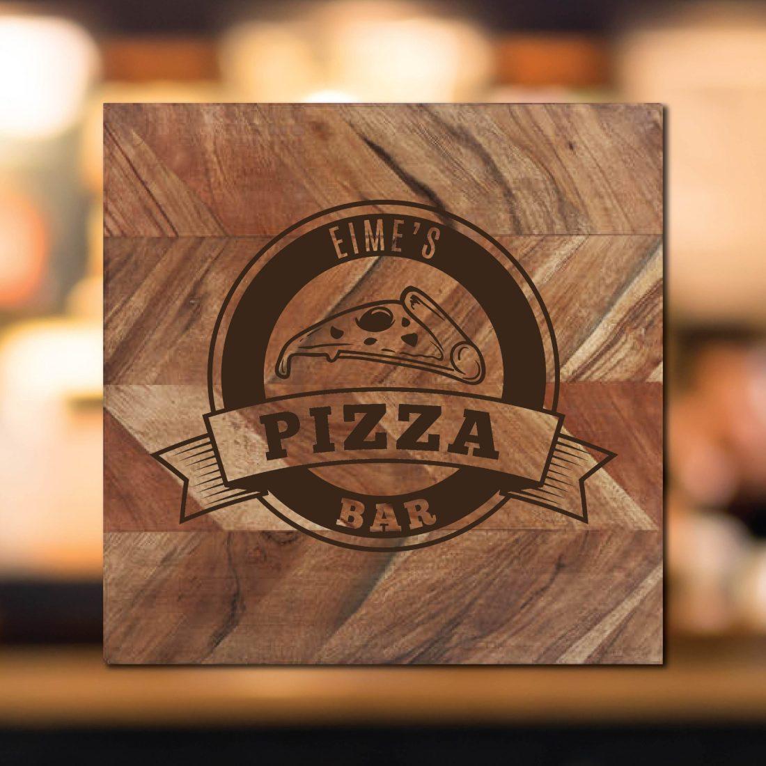 Pizza Bar Chopping Board
