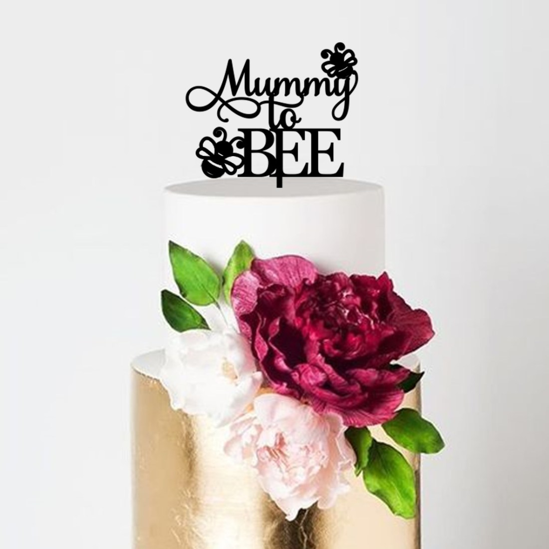 Mummy to Bee Cake Topper