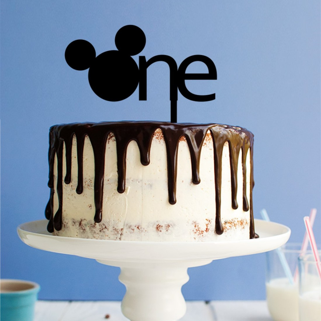 Ears One Cake Topper