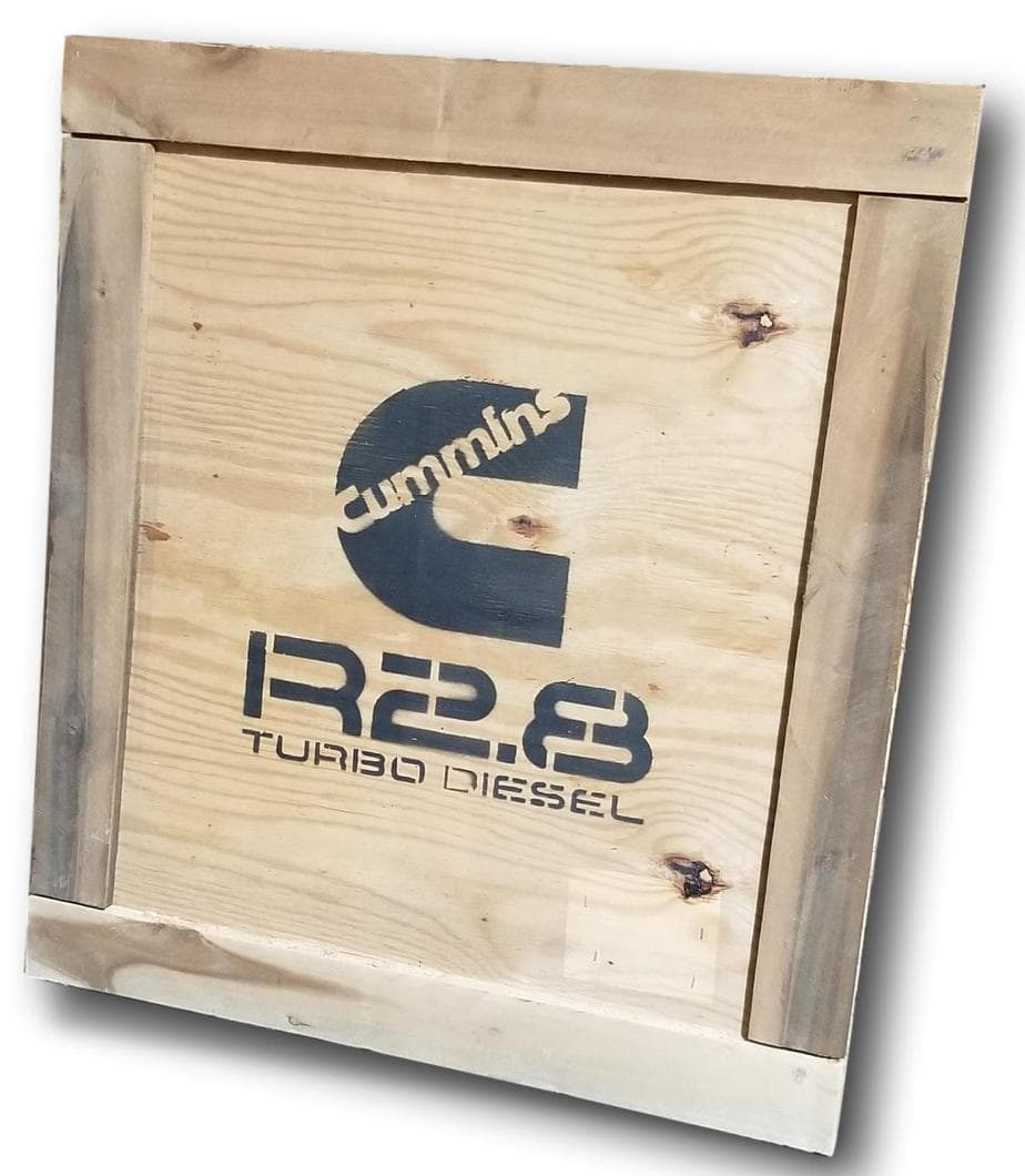 Cummins R2.8 wooden crate