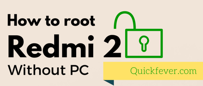 How to Root Redmi 2/Prime Without PC based on MIUI 9 and Older