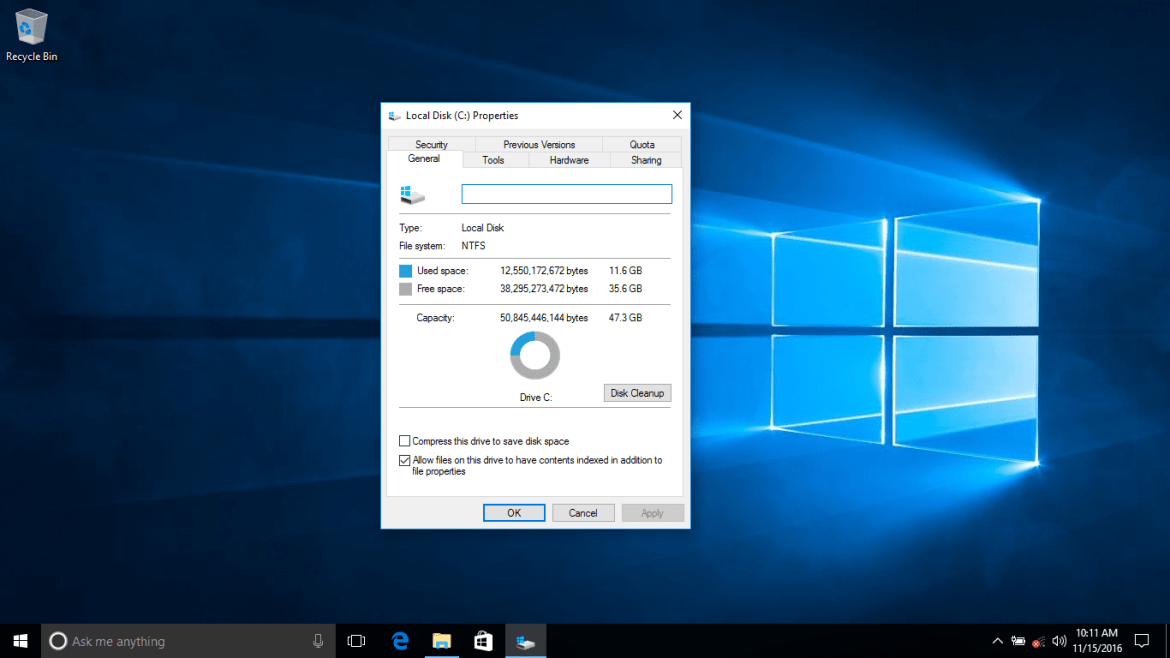 Windows 10 Required Space Hard Disk Amp Ram