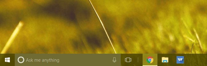 change taskbar color windows 10