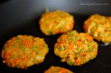veggie patties schezwan