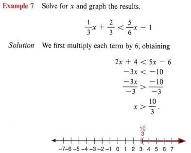 solve inequalities with step