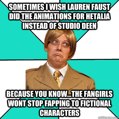Sometimes I Wish Lauren Faust Did The Animations For