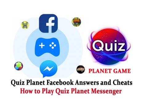 Facebook Quiz Planet Messenger Game Answers and Cheats