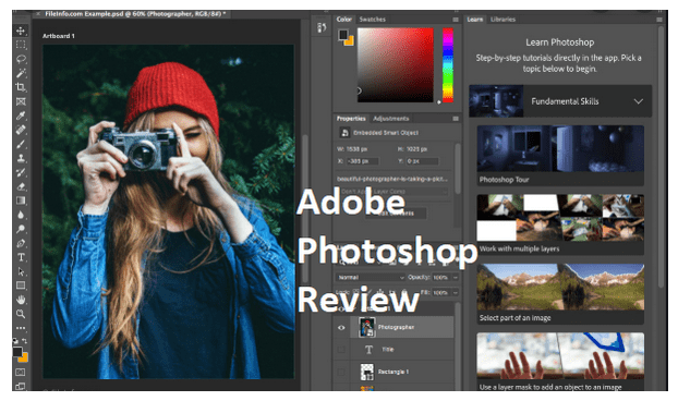 Adobe Photoshop Review – Editing with Adobe Photoshop – Overview of Photoshop Benefits