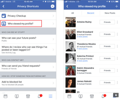 Facebook Finally Lets You See Who Viewed Your Profile