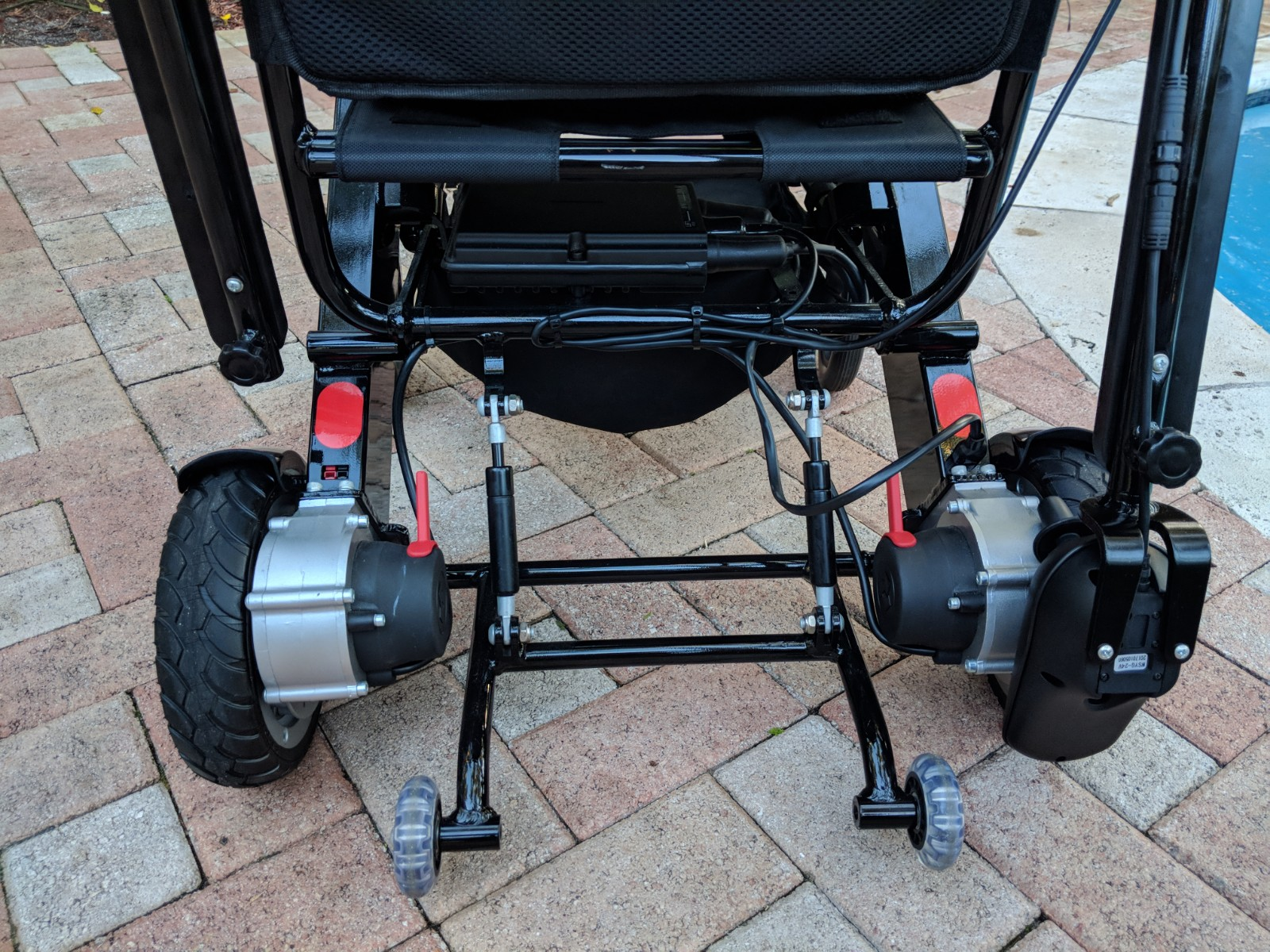 The Air Hawk Folding Electric Wheelchair is equipped with two High-Performance Hub Motors in addition to Anti Tip Wheels allowing the AirHawk Folding ... & Airhawk Power Folding Wheelchair u2013 Quick N Mobile u2013 888-701-8799