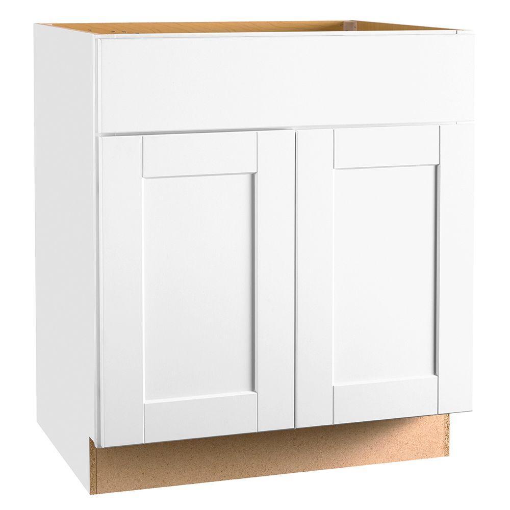 Shaker White Base Cabinet
