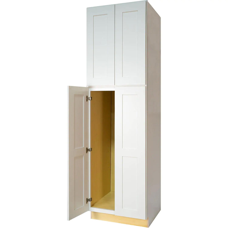 Shaker White Pantry Cabinet
