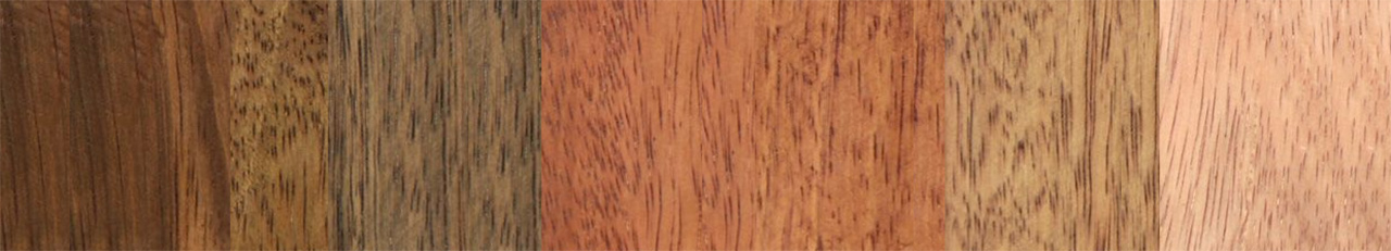 Choose Different Custom Wood Colors