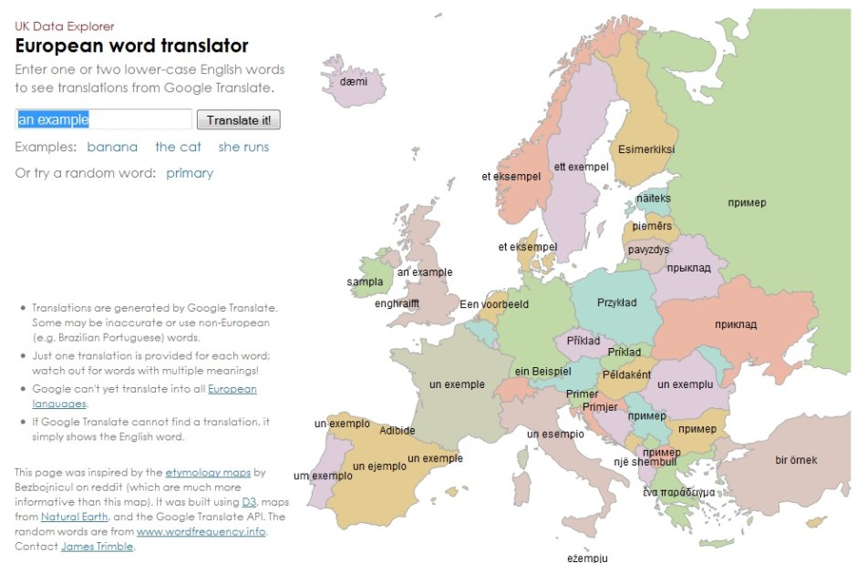 Mapa Interactivo De Lenguas Europeas Quicksilver Translate
