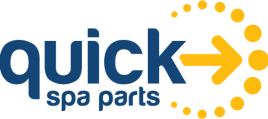 This image has an empty alt attribute; its file name is Quick-Spa-Parts-Logo.png