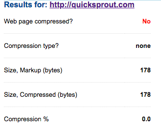 Compression Audits