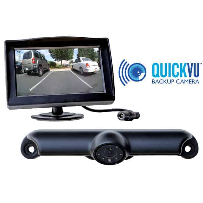 Rear View Camera System >> Quickvu Digital Wireless Backup Camera System