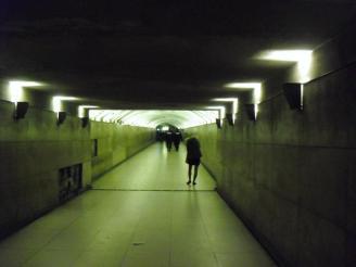 Tunnel to the Arc de Triumph