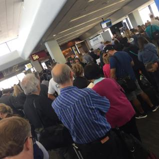 Crowds! Delays! Lines!