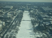 A view from the to: Capitol