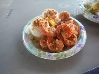 Shrimp and garlic