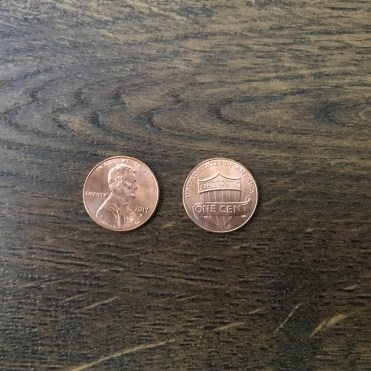 Penny: 1 Cent