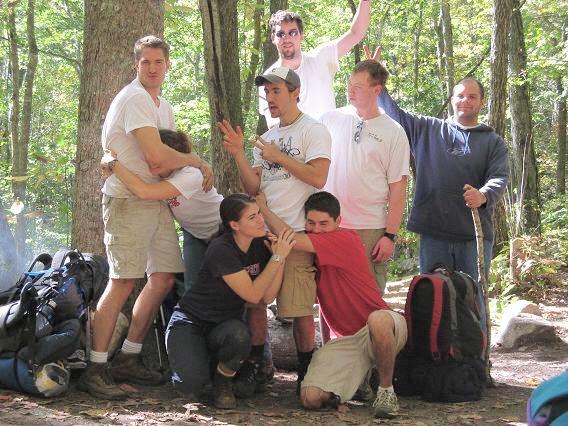 Virgin Falls-Adam, Brian, Jee Jesse Keith Terri Whitney 10-20-07 364