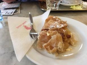 Apfel Kuchen (like Apple pie)