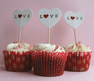 Cupcake Toppers by MeriMakes