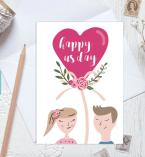 Romantic Card by CGDesignStudioShop