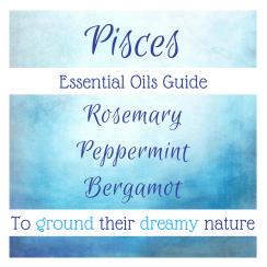 Essential Oils for Pisces