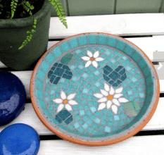 Waterlily Mosaic by JoSaraUK