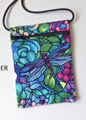 pouch zip bag by VinoCatz