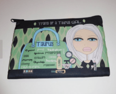 Taurus makeup bag by MichelewithasingleL
